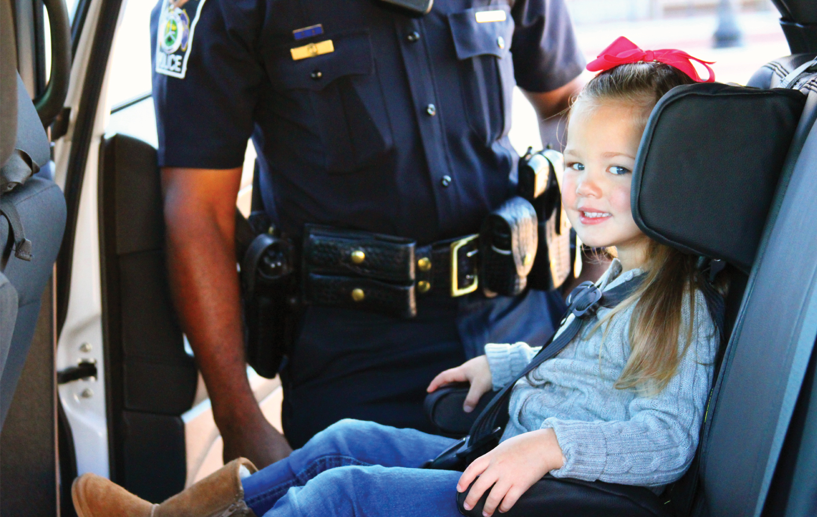 police check car seat