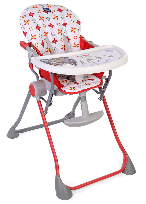 Chicco-Pocket-Meal-High-Chair-in-Red